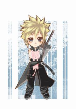 Cloud chibi by Zen by siguredo