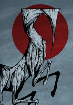 Pale Horse by ThePsychoGoat