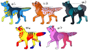 Canine Point Adopts Auction (open) by Shazbuckets