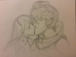 Stahl and Cordelia by sirairbud