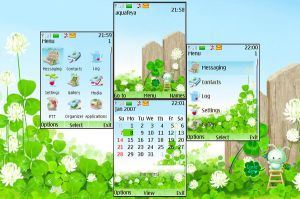 Lucky day Nokia s40 Theme by Aquafeya