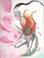 Amaterasu by NoreyDragon