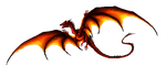 Smaug glowing animation by Svartya