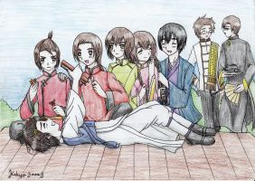 Hetalia: Asia's day out~ by KikyoYuuki
