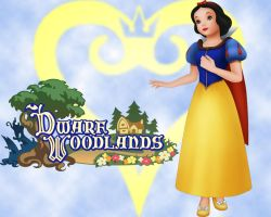 Snow White's Dwarf Woodlands by ayame133