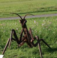 ant from metal by ingeline-art