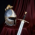 Dragon's Helm of Dor Lomin and Dragon's Sword 2 by HorheSoloma