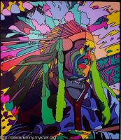 Chief Kegodance by Ojibway-Doko