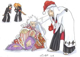 Happy Birthday Toshiro,Ukitake by N-KH-FF-fans