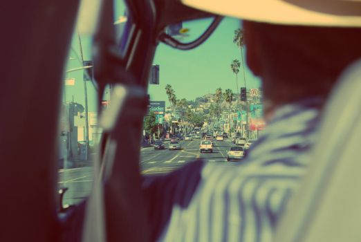 Driving in LA by ory4na
