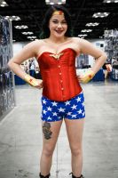 Indiana Comic Con Wonder Woman 2 by SirKirkules