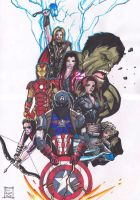 Avengers Age Of Ultron by samrogers