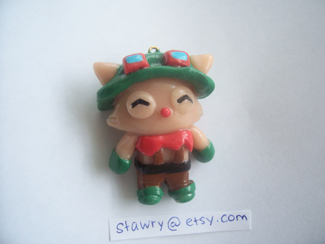 Teemo Charm League of Legends by Stawry