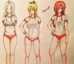 P.E. Time with the Queens of Magnolia High by Yumii-chi