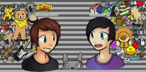 Dan and Phil by notsopapermemories