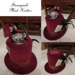 Steampunk Mad Hatter Hat by Challenger70TA