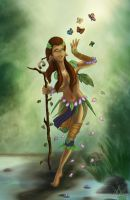 Druid of life by PolyMune