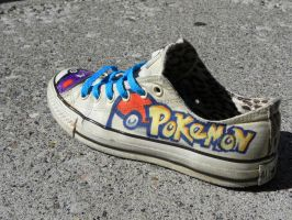 Pokemon Custom Shoes by Harpo-exe