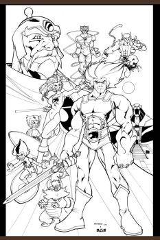 thundercats by Barberi_ink by macuy19