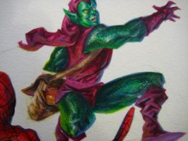Green Goblin WIP by johjames