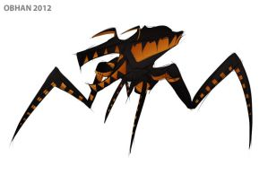 Quick Sketch - Starship Troopers Bug by Obhan