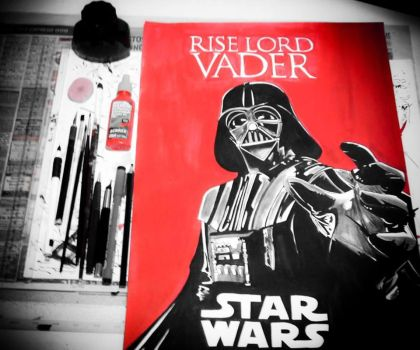 Rise Lord Vader by KislerArtStock