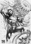Man of Steel killed The Dark Knight by agussumantri
