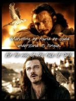 The Hobbit: Bard and the old thrush by BeautyAndStrength