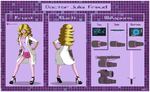 Reference Sheet: Doctor Julia Freud by A-Fox-of-Fanfiction