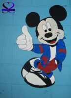 MURAL Series: Mickey- Complete by southernstingray