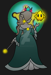Blue Rosalina by MarioPrincessArtist