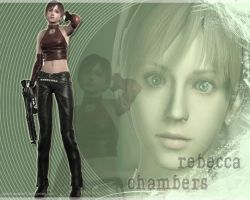 Rebecca Chambers Wall1 by Claire-Wesker1