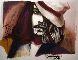 Heartbeat Poet - Johnny Depp by LizDouceFolie