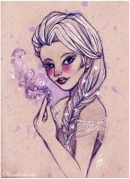 Elsa - Frozen by Woodstockowa
