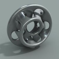 single interlocking mobius strip - wings 3D tut by davidbrinnen