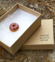 Itty Bitty Donut Charm by MouseEmporium