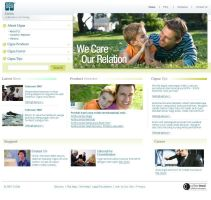 Cygna Insurance Website by theideafield