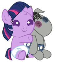 Twiwight Hugs Smarty Pants by Bronyboy