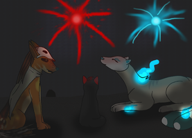 Krosfox - fireworks by moonlightwalk
