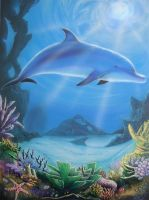 Dolphins by mac2010