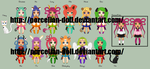 Shengxiao Senshi Adopts - Closed by porcelian-doll