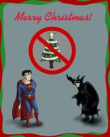 No Christmas for Batman by Ty-Chou