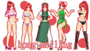 .: DL SERIE ARLVIT - HONG MEILING :. by TsukiChanP