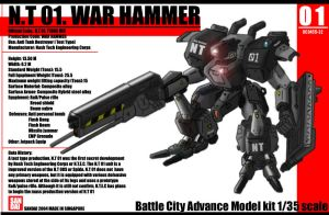 War hammer model kit by NCH85