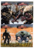 Marvel: Masterpieces set 3 by RenaeDeLiz