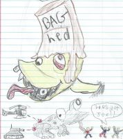 Tales of the Baghead by RecycleBicycle