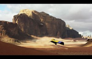 Wipeout Desert by makhor