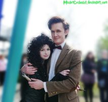 Bellatrix and the Doctor by MasterCyclonis1