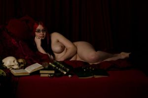 Reclining Nude 3 by Tainted-Kayla