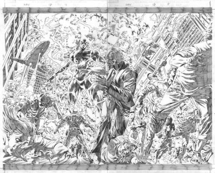 N.A 18: Pages 04-05 Pencil by MikeDeodatoJr